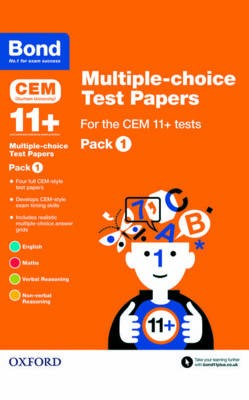 Bond 11+: Multiple-choice Test Papers for the CEM 11+ Tests Pack 1 - pr_115626