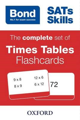 Bond SATs Skills: The complete set of Times Tables Flashcards - pr_274195