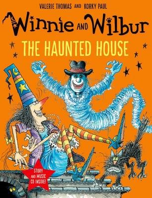 Winnie and Wilbur: The Haunted House with audio CD -
