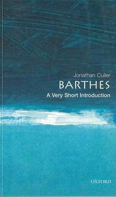 Barthes: A Very Short Introduction -
