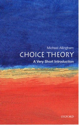 Choice Theory: A Very Short Introduction - pr_274218