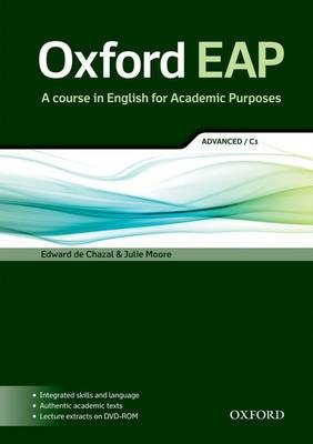 Oxford EAP: Advanced/C1: Student's Book and DVD-ROM Pack -