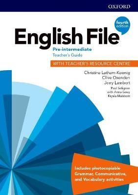 English File: Pre-Intermediate: Teacher's Guide with Teacher's Resource Centre -
