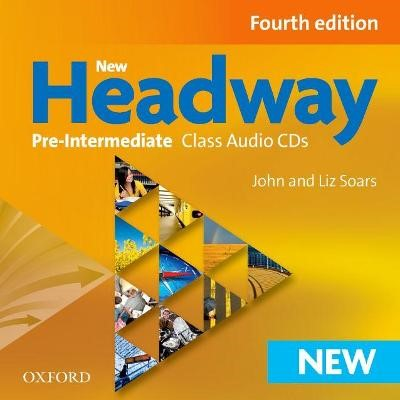 New Headway: Pre-Intermediate A2-B1: Class Audio CDs - pr_75471