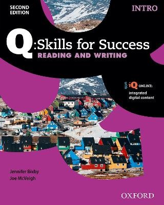 Q Skills for Success: Intro Level: Reading & Writing Student Book with iQ Online - pr_275367
