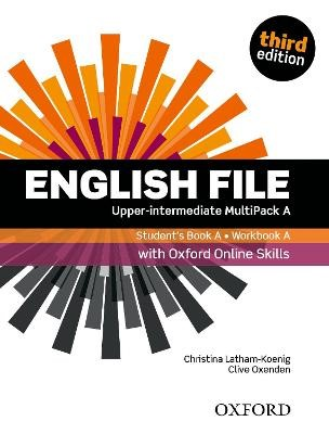English File: Upper-Intermediate: Student's Book/Workbook MultiPack A with Oxford Online Skills -