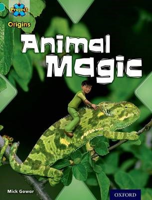 Project X Origins: Turquoise Book Band, Oxford Level 7: Hide and Seek: Animal Magic - pr_77205