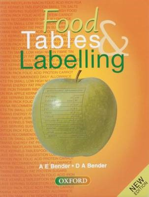 Food Tables and Labelling -