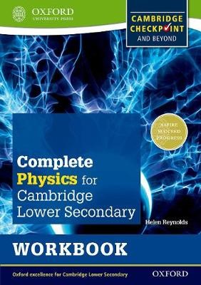 Complete Physics for Cambridge Lower Secondary Workbook (First Edition) -