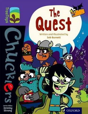 Oxford Reading Tree TreeTops Chucklers: Level 11: The Quest -