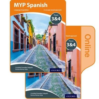 MYP Spanish Language Acquisition Print and Online Student Book Pack Phases 3 & 4 - pr_275874