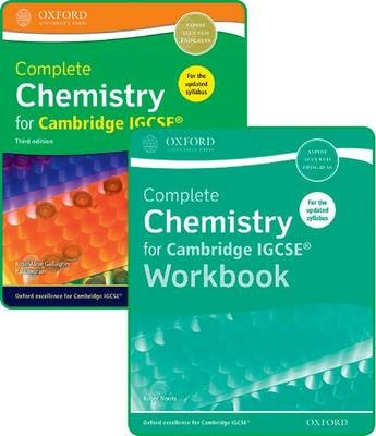 Complete Chemistry for Cambridge IGCSE (R) Student Book and Workbook Pack -