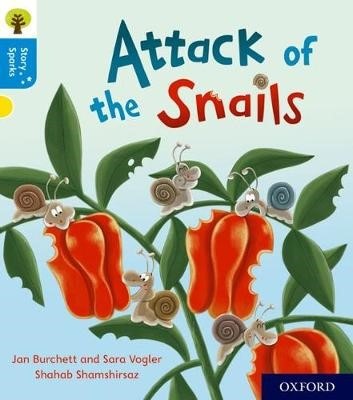 Oxford Reading Tree Story Sparks: Oxford Level 3: Attack of the Snails - pr_78442