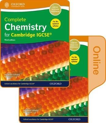 Complete Chemistry for Cambridge IGCSE (R) Print and Online Student Book Pack -