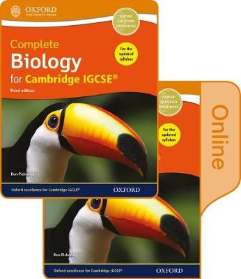 Complete Biology for Cambridge IGCSE (R) Print and Online Student Book Pack -
