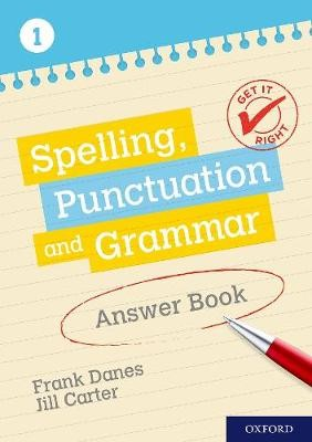 Get It Right: KS3; 11-14: Spelling, Punctuation and Grammar Answer Book 1 -