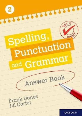 Get It Right: KS3; 11-14: Spelling, Punctuation and Grammar Answer Book 2 -