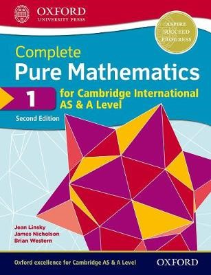 Complete Pure Mathematics 1 for Cambridge International AS & A Level -