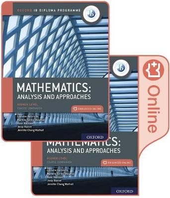 Oxford IB Diploma Programme: IB Mathematics: analysis and approaches, Higher Level, Print and Enhanced Online Course Book Pack - pr_329497