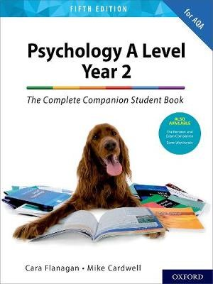 Psychology A Level Year 2: The Complete Companion Student Book for AQA -