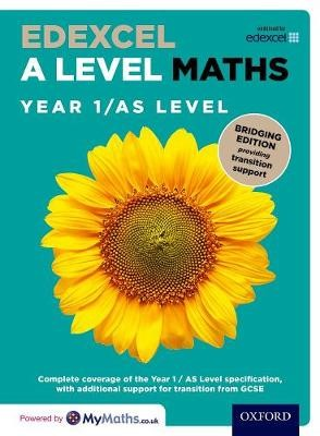 Edexcel A Level Maths: Year 1 / AS Level: Bridging Edition - pr_274334