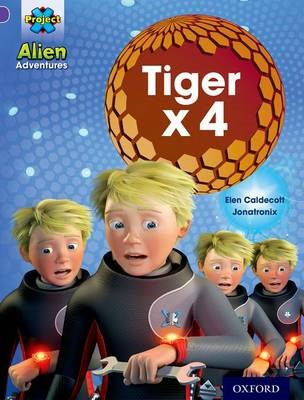 Project X: Alien Adventures: Purple: Tiger x 4 -