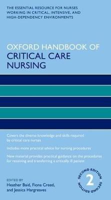 Oxford Handbook of Critical Care Nursing -