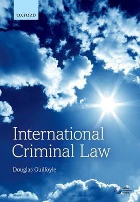 International Criminal Law -