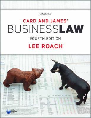 Card & James' Business Law - pr_304869