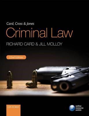 Card, Cross & Jones Criminal Law - pr_304749