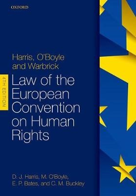 Harris, O'Boyle, and Warbrick: Law of the European Convention on Human Rights -