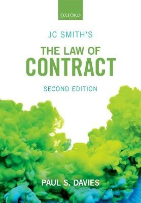 JC Smith's The Law of Contract - pr_305018