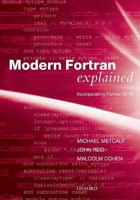 Modern Fortran Explained -