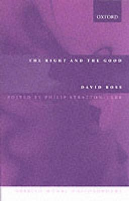 The Right and the Good -