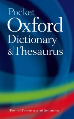 Pocket Oxford Dictionary and Thesaurus - pr_370965
