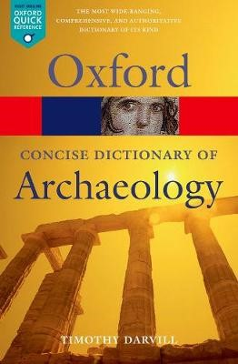 Concise Oxford Dictionary of Archaeology -