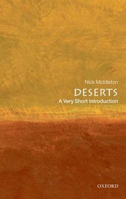 Deserts: A Very Short Introduction -