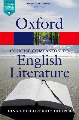 The Concise Oxford Companion to English Literature -