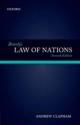 Brierly's Law of Nations -