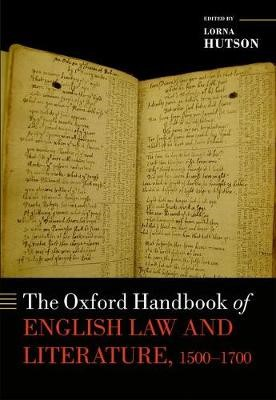 The Oxford Handbook of English Law and Literature, 1500-1700 - pr_78160