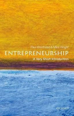 Entrepreneurship: A Very Short Introduction -