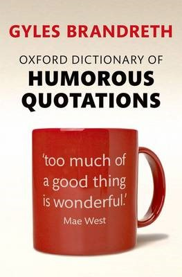 Oxford Dictionary of Humorous Quotations - pr_518