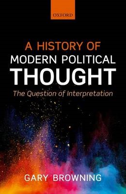 A History of Modern Political Thought -
