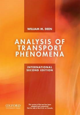 Analysis of Transport Phenomena -