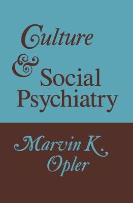 Culture and Social Psychiatry -