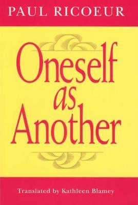 Oneself as Another - pr_278127