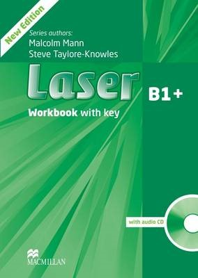 Laser 3rd edition B1+ Workbook  with key & CD Pack -