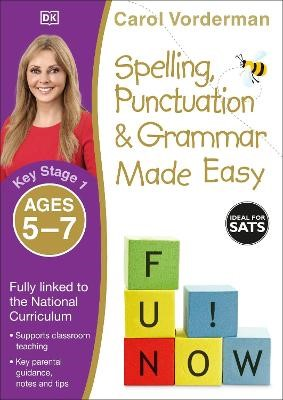 Spelling, Punctuation & Grammar Made Easy, Ages 5-7 (Key Stage 1) - pr_18888