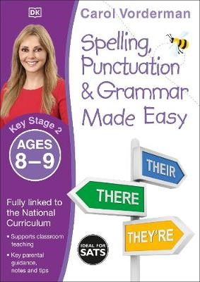 Spelling, Punctuation & Grammar Made Easy, Ages 8-9 (Key Stage 2) - pr_18759