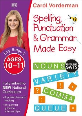 Spelling, Punctuation & Grammar Made Easy, Ages 10-11 (Key Stage 2) - pr_18758